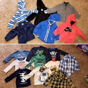 Boys 12 month fall/winter lot